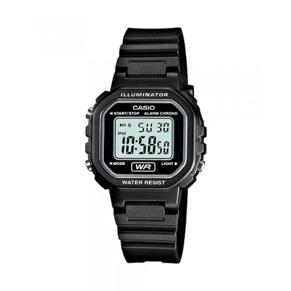 CASIO Kids Ladies LA-20WH-1AV Digital Watch |Small Cute Petit