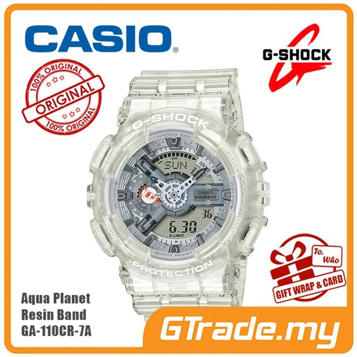 8b40e593ba3c CASIO G-SHOCK AQUA PLANET GA-110CR-7A Analog Digital Watch