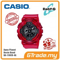 [READY STOCK] CASIO BABY-G AQUA PLANET BA-110CR-4A Analog Digital Watch