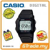 [READY STOCK] CASIO STANDARD W-800H-1AV Digital Watch | Classic Look 10Y Batt.