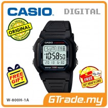CASIO STANDARD W-800H-1AV Digital Watch | Classic Look 10Y Batt.