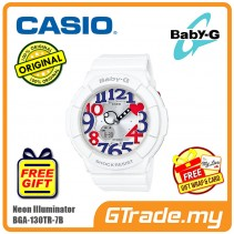 CASIO BABY-G BGA-130TR-7B Analog Digital Watch | Neon Illuminator