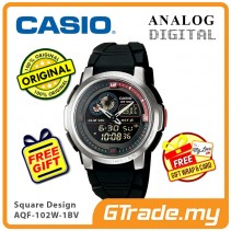 CASIO STANDARD AQF-102W-1BV Analog Digital Watch   Thermo. World.T
