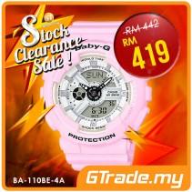 #SALE CASIO Ladies BABY-G BA-110BE-4A Digital Watch Beach Color Series