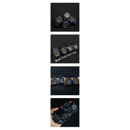 [READY STOCK] CASIO STANDARD AQ-S810W-1BV Analog Digital Watch   Solar World.T