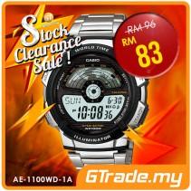 #SALE CASIO STANDARD AE-1100WD-1AV Digital Watch | 10 Yrs Batt. WR100M