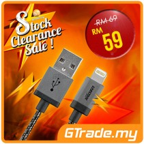 #SALE CABSTONE 30CM Metal Charger USB Cable Lightning
