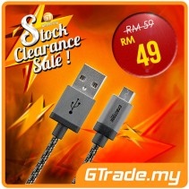 #SALE CABSTONE Metal Fast Charge Micro-USB Cable