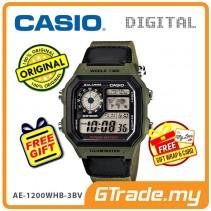 CASIO STANDARD AE-1200WHB-3BV Digital Watch | 10Y Batt. Wolrd.T
