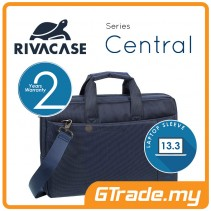 RIVACASE Central Laptop Messenger Bag Apple MacBook Air Pro 13 Blue