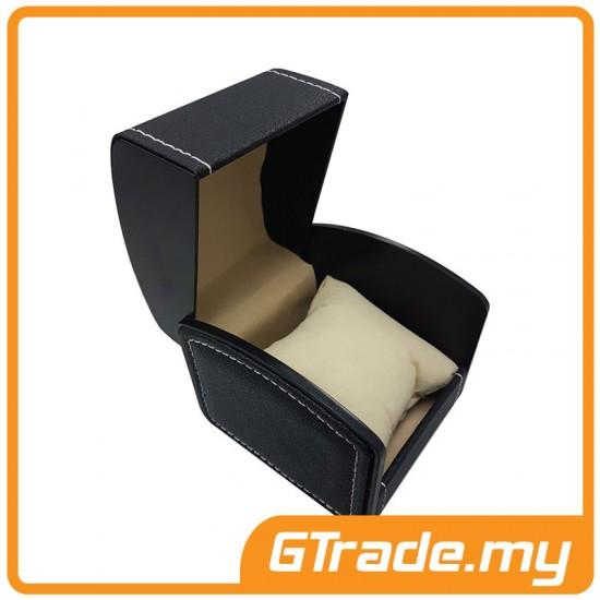 Gift Box Leather 001A For Single Watch Black *PWP Discount RM5