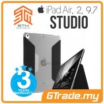 STM Studio Folio Protect Case Apple iPad Air 1 2 9.7 Black