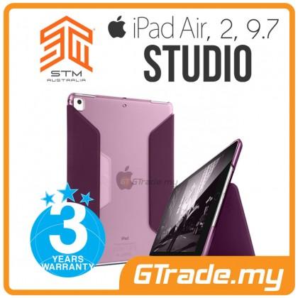 STM Studio Folio Protect Case Apple iPad Air 1 2 9.7 Purple