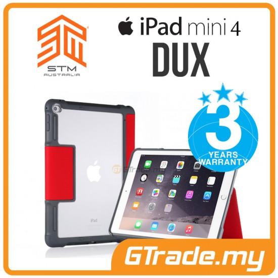 STM Dux Drop Protect Tough Case Apple iPad Mini 4 Red