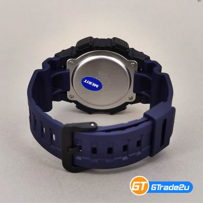 Casio Standard W-735H-2A W735H-2A Digital Vibrate Alarm Watch Blue Resin Band G Shock . watch for man . jam tangan lelaki . casio watch for men . casio watch . men watch . watch for men [READY STOCK]