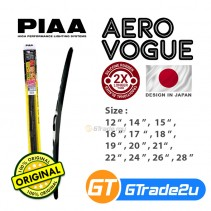 PIAA Aero Vogue Silicone Windshield Wiper Blade 17' INCH WAVS43