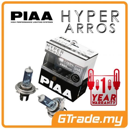 Piaa Hyper Arros Halogen Headlight Light Bulb 3900k He 905 H9