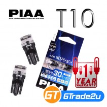 PIAA T10 Car LED Rear Interior Light Bulb 30LM 6000K 0.4W LEP115
