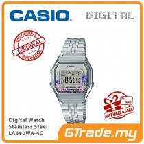 CASIO Women Ladies LA680WA-4C Digital Watch | Retro New Color Alarm