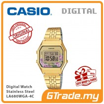 CASIO Women Ladies LA680WGA-4C Digital Watch | Retro New Color Alarm