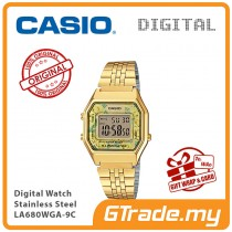 CASIO Women Ladies LA680WGA-9C Digital Watch | Retro New Color Alarm