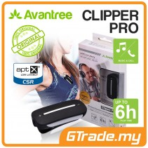 AVANTREE Wireless Bluetooth LOW LATENCY Music Receiver Clipper Pro