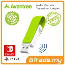 AVANTREE USB Bluetooth Audio Transmitter Adapter PS4 Nintento Switch