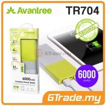 AVANTREE Dual USB 6000mAh Portable Power Bank Charger TR704