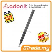 ADONIT Jot Mini 4 Stylus Pen Black Artist Desinger Drawing +Free Gift
