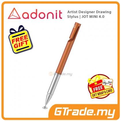 ADONIT Jot Mini 4 Stylus Pen Orange Artist Desinger Drawing  +Free Gift