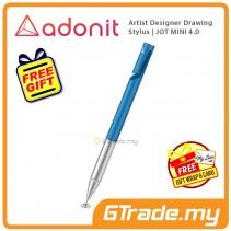 ADONIT Jot Mini 4 Stylus Pen Blue Artist Desinger Drawing +Free Gift