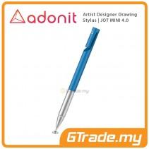 ADONIT Jot Mini 4 Artist Desinger Drawing Stylus Pen Blue
