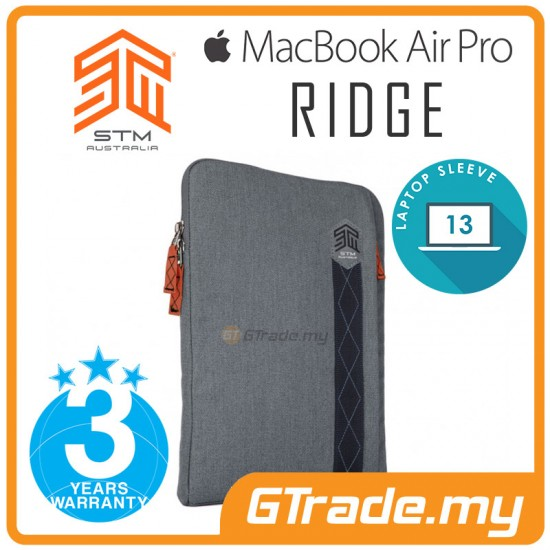 STM Ridge Laptop Sleeve Bag Apple MacBook Air Pro 13' Grey
