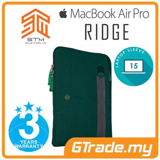 STM Ridge Laptop Sleeve Bag Apple MacBook Air Pro 15' Green