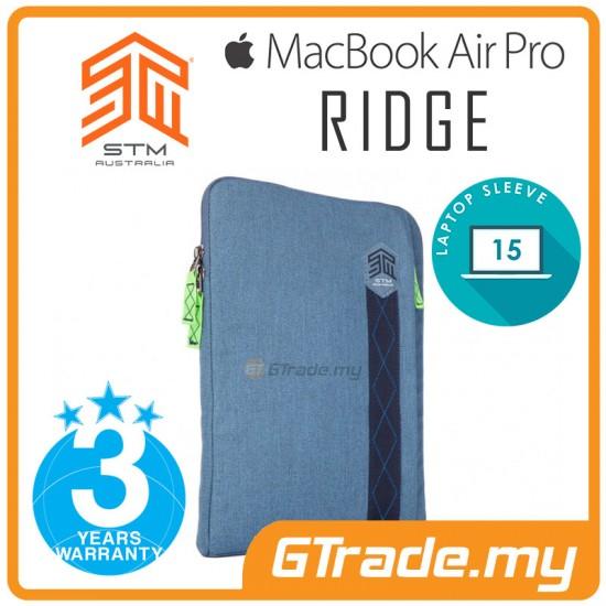 STM Ridge Laptop Sleeve Bag Apple MacBook Air Pro 15' Blue
