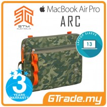 STM Arc Laptop Sleeve Bag Apple MacBook Air Pro 13' Green Camo