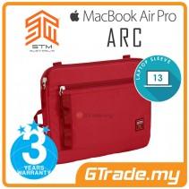 STM Arc Laptop Sleeve Bag Apple MacBook Air Pro 13' Red