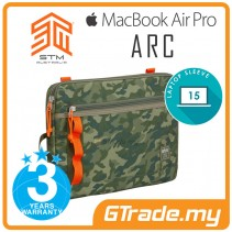 "STM Arc Laptop Sleeve Bag Apple MacBook Air Pro 15"" Green Camo"