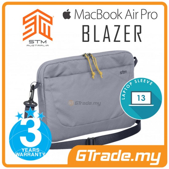 STM Blazer Laptop Sleeve Bag Apple MacBook Air Pro 13' Grey