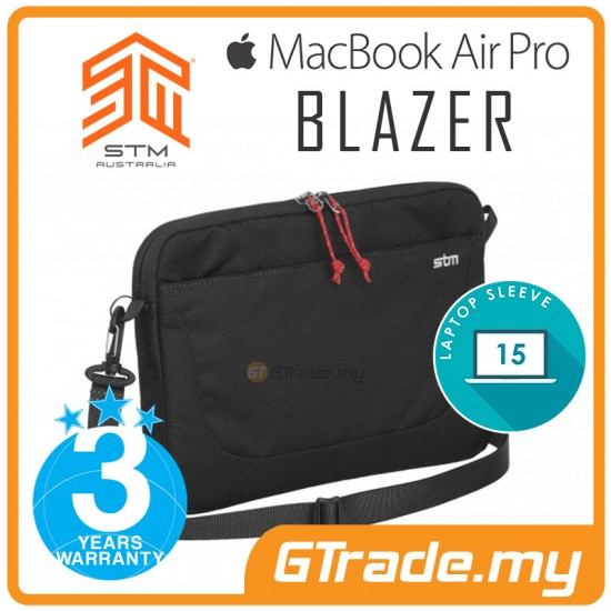 STM Blazer Laptop Sleeve Bag Apple MacBook Air Pro 15' Black