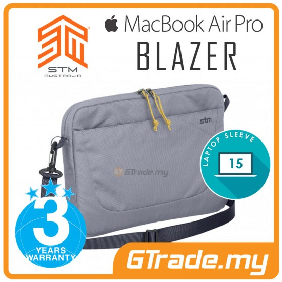 "STM Blazer Laptop Sleeve Bag Apple MacBook Air Pro 15"" Grey"