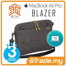 """STM Blazer Laptop Sleeve Bag Apple MacBook Air Pro 15"""" Steel"""