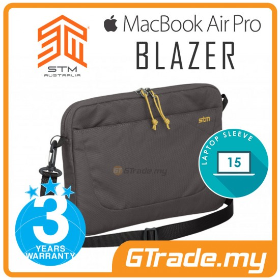 "STM Blazer Laptop Sleeve Bag Apple MacBook Air Pro 15"" Steel"