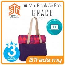STM Grace Deluxe Laptop Sleeve Bag Apple MacBook Pro Air 13' Purple Diamond