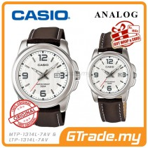 CASIO STANDARD MTP-1314L-7AV & LTP-1314L-7AV Analog Couple Watch