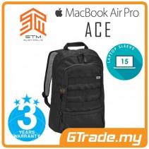 STM Ace 15 Litre Laptop Backpack Bag Apple MacBook Pro Air 15' Black