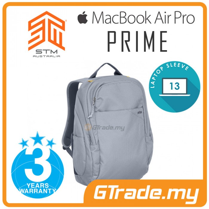 STM Prime Laptop Backpack Bag Apple MacBook Pro Air 13  Blue a503d292cd5c6