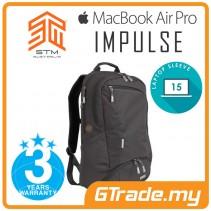 STM Impulse Laptop Backpack Bag Apple MacBook Pro Air 15' Black