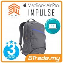 STM Impulse Laptop Backpack Bag Apple MacBook Pro Air 15' Charcoal