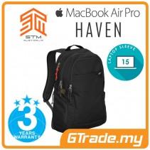 STM Haven Laptop Backpack Bag Apple MacBook Pro Air 15' Black